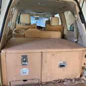 ادراج خشب تركب على لاند كروزر او جيب لكزس 570 من مديل 2008-