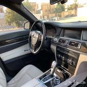 للبيع BMW حجم 730Li لارج موديل 2013 فل اوبشن