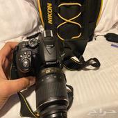 كاميرا نيكون D5300 - شبه جديده