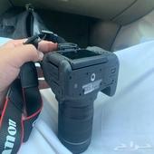 كاميرا كانون 750D الكميرا بدون ذاكره وبدون شاحن