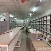 محل فتحتين   مستودع للايجار شارع مكه المكرمه
