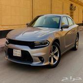 دودج اتشارجر 2018 V6 سعودي نظيف