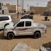 هايلكس سعودي رقم واحد مرشوش كامل ماشي 200 وزايد