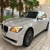 ((تم البيع))بي ام دبليو الفئة السابعة 740 أل أي - BMW 740 Li
