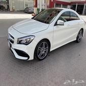 مرسيدس CLA 250 سعودي لون أبيض كت 2018