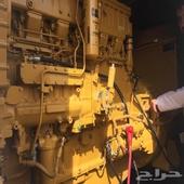 مولد كهرب كتربلر 300 كيلو للبيع ماكينه 3406C عادي