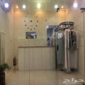 مغسلة ملابس بكامل اغراضها للبيع