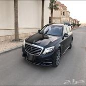 يخت جفالي ممشى قليل AMG S 2014 بدي وكاله ولله الحمد