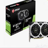 كرت شاشة جديد MSI GEFORCE GTX 1660TI VENTUS