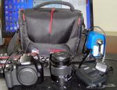 كاميرا Canon Eos 1300D  مع عدسة الوكالة
