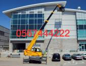 Crane with basket for rent in Jeddah