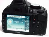 كاميرا نيكون D3100 للبيع العااجل الحد 600