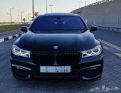 BMW حجم 740Li المديل 2016