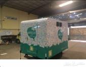 تصنيع وتجهيز عربات الطعام والكشكات