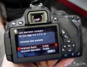 كاميرا كانون Canon 600D مع عدسة عزل
