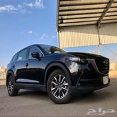 مازدا - CX9 - شبه جديدة - 2020 الدفعة الثانية -سعودي- نص فل