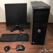 كمبيوتر. مكتبي ديل أصلي DELL