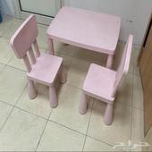 طاولة اطفال مع 2 كرسي