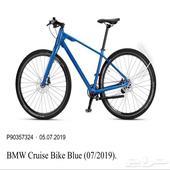 BMW Cruise Bike Blue new