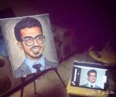 رسام لوحات شخصية زيتية للاهداءات شحن  ومقاسات