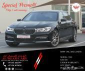 للبيع BMW 730 LI موديل 2018 ضمان دولي سنتين