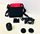 كاميرا احترافية Canon 1100D - EOS زووم