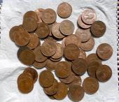 عملات معدنية بريطانية قديمه