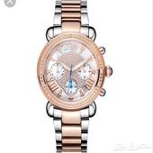 ساعة يد فيكتوري كرونوغراف الماس طراز JB-6210-N نسائيه