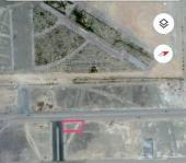 ارض للبيع  على شارعين بمحافظة وادي الفرع