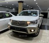 تويوتا هايلكس 2019 GLX2 جنوط كروم (سعودي)