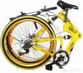 دراجة هوائية قابلة للطي مشاية كهربائية