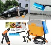 ماكينة مويه لغسل سيارتك ضغط شديد كرة 200ريال