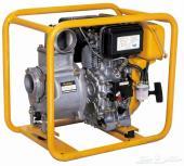 ماطور مياه 4 بوصة ديزل محرك روبين ياباني