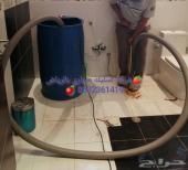 شركة تسليك مجاري الحمام والمطبخ وغرفة التفتيش