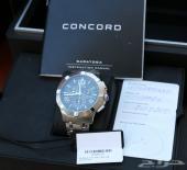 ساعة فخمة جديدة رجالية CONCORD Saratoga 03201
