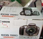 للبيع كانون Canon 1100D بكل أغراضها