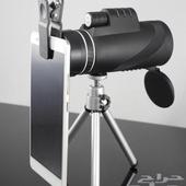 تلسكوب للجوال وينفع دربيل جودة ممتازة بسعر العرض