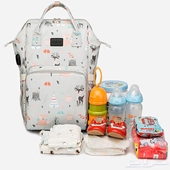 حقيبة ( شنطة ) اطفال مقسمة جيوب داخلية