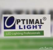 اضاءات وكشافات ليد   OPTIMAL  LIGHT