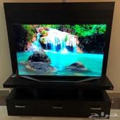 طاولة تلفزيون للشاشات الكبيرة للبيع