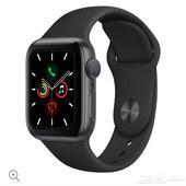 ساعة ابل الاصدار الخامس مقاس 40mm جديدة Apple Watch series5