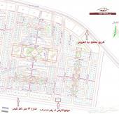 ارض تجاريةمساحة 1800م في جوهرة العروس شارع52