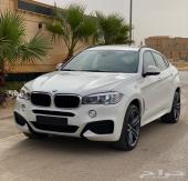BMW X6 M kit اللون أبيض الممشئ 41 ألف
