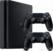PS4  (سلم) مهكر  مع اكثر من 130 لعبة