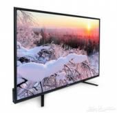 تلفزيون ذكي 55 بوصة جديد بالكرتون