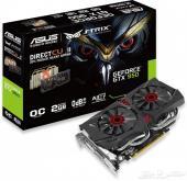 للبيع كرت شاشه GeForce STRIX GTX 950 OC 2GB
