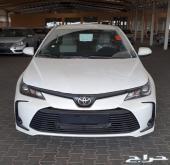 تويوتا كورلا 2020  XLi سعودى اصفار للتقسيط.