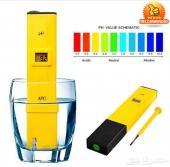 لمن يهتم بماء شرب صحي جهاز قياس قلوية الماءPH