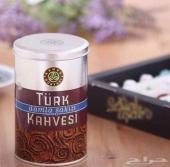 قهوة تركية بالمستكة وصانع الاسبريسو
