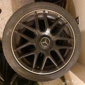 جنوط AMG بلاك اديشن نظيفه